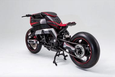 ロジウム・オメガ GTS1000 ヤマハ カスタムバイク