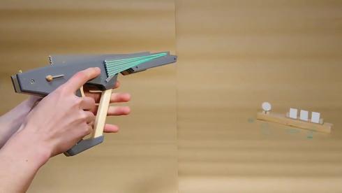 ゴム銃 セミオート