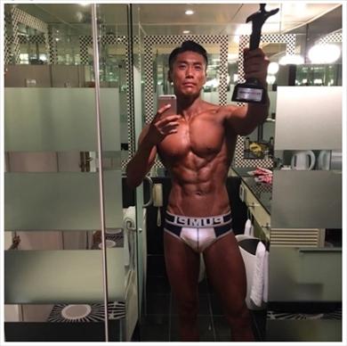 金子賢 筋肉 ビフォーアフター トレーニング #10yearschallenge 現在 ボディービル コンテスト