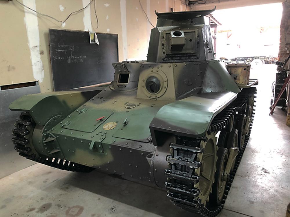 国内に現存なし 歴史的価値のある旧日本軍「九五式軽戦車」里帰り計画が本格始動、クラウドファン ...