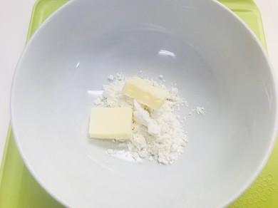 バター&小麦粉