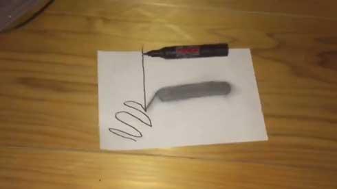 トリックアート 作る 6歳 子ども