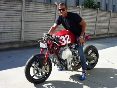エンジンが逆さまのバイク Nembo 32