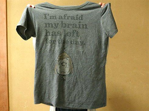 用意したTシャツ