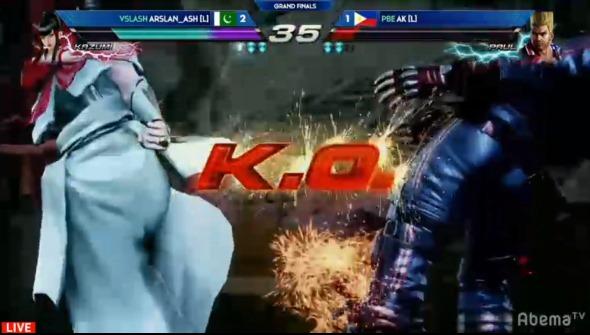 EVO Japan 2019 鉄拳7 Arslan_Ash