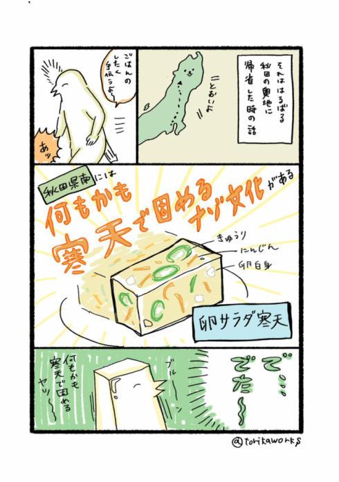 寒天で固めるナゾ文化01