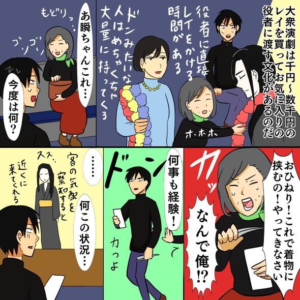 大衆演劇 レポート漫画
