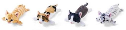 子猫のアームレストのバリエーション