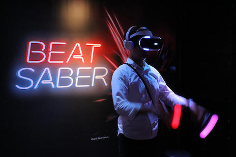 「Beat Saber」