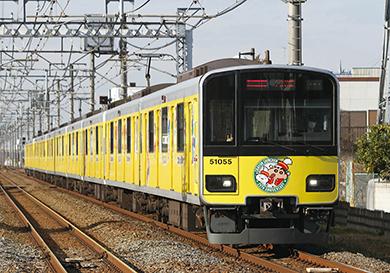 東武50050型 クレヨンしんちゃんラッピングトレイン