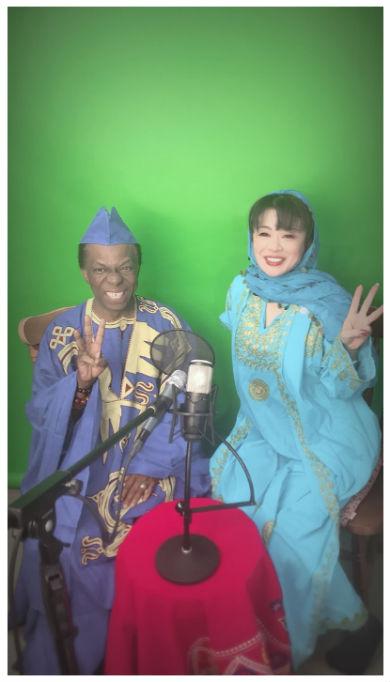 北山みつき 演歌 歌手 ギニア オスマン・サンコン 結婚 一夫多妻制
