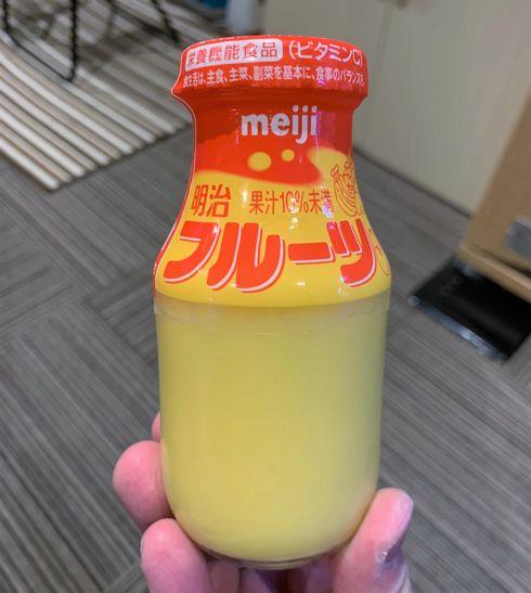 明治 フルーツ フルーツ牛乳