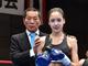 美脚ハイキックがさく裂! 15歳のハーフモデル、キックボクシングデビュー戦で優勝「もっと強くなりたい」