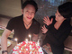 """「ステキな博多の夜でした」 藤原紀香、夫・片岡愛之助の47歳誕生日を""""若旦那""""ケーキで祝福"""