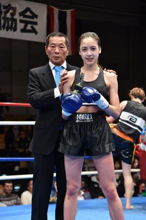 高橋アリス セブンティーン Seventeen キックボクシング 優勝