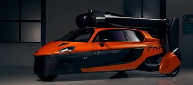 折りたたみ式の回転翼を搭載する3輪自動車