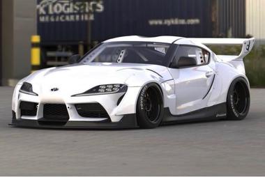 トヨタ スープラ 新型 GR ドリフト D1