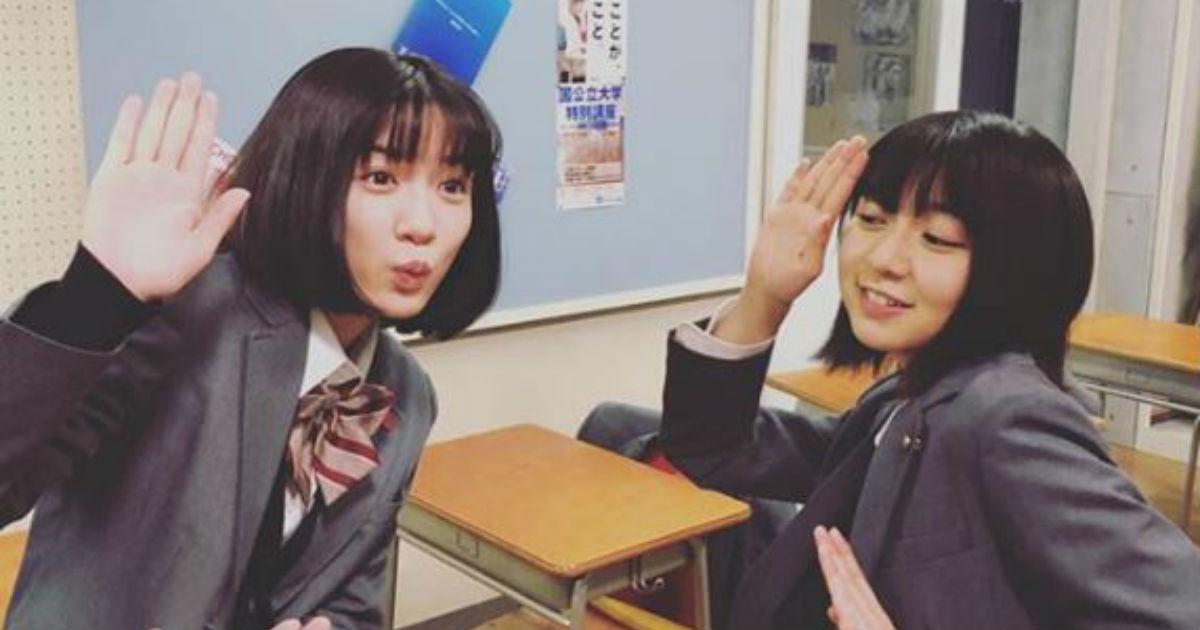 「終わっちゃうのやだ」 ドラマ「3年A組」の最終回にロスの声、永野芽郁&上白石萌歌は気合ばっちり , ねとらぼ