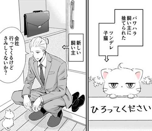 新しい飼い主は 漫画 捨て猫 新しい上司はど天然 いちかわ暖