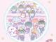 銀魂×サンリオキャラクターズのコラボカフェ開催 サンリオデザインの銀さんたちがパステルかわいい