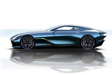 DBS GT Zagato フロントガラス