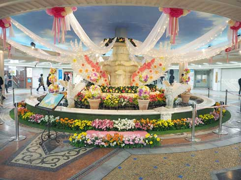 泉の広場 梅田ダンジョン セーブポイント RPG風 フォトスポット イベント