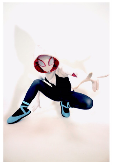 のん 能年玲奈 スパイダーマン スパイダーバース グウェン・ステイシー スパイダーグウェン スパイダーウーマン コスプレ