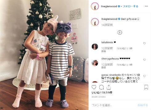 長谷川潤 息子 娘 ハワイ ジャスティン・ビーバー Baby ft. Ludacris Instagram