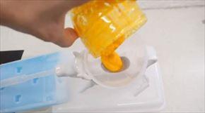 発泡スチロールで作った包丁