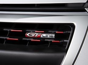 208 GT Line ICE EDITION サイドウィンドウモール