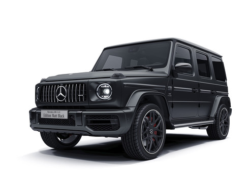 メルセデスAMG G63 Edition Matt Black