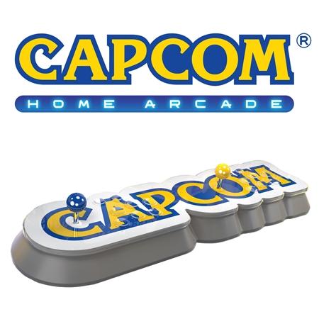 英国カプコン「Capcom Home Arcade」を発表 アーケードスティック一体型で、レアゲー「エイリアン vs. プレデター」「ロックマン・ザ・パワーバトル」など16本収録