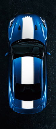 GT-R 2020年モデル ワンガンブルー×ホワイト