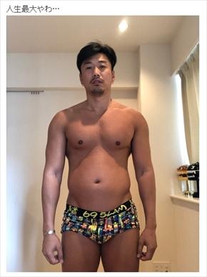 金子賢 ダイエット ボディービル 肉体 体 激太り