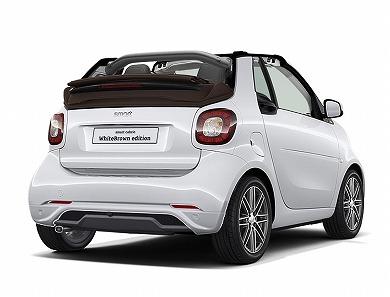 smart cabrio WhiteBrown edition