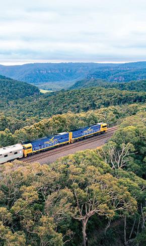 オーストラリア横断鉄道