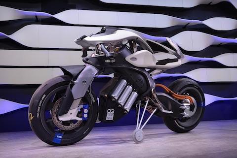 ヤマハ発動機 コンセプト バイク 試作機 モトロイド MOTOROiD