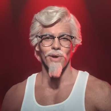 KFC アメリカ ケンタッキーフライドチキン 母の日 動画 Instagram