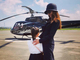 「家族旅行のスケールが違う」 神田うの、娘との2ショットよりヘリコプターが圧倒的存在感を放ってしまう