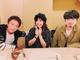 浜ちゃんいい顔してる! 小川菜摘と長男のハマ・オカモト、浜田雅功の56歳誕生日を祝福