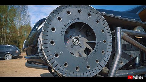無限軌道 ウルトラタンク ベントレー 魔改造 戦車 ロシア