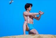 武田真治 村雨辰剛 小林航太 みんなで筋肉体操 筋肉三人衆 資生堂 ANESSA アネッサ