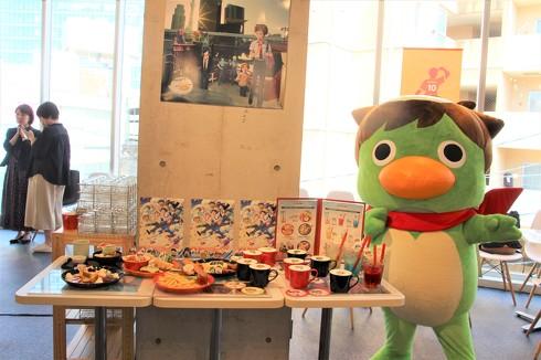 Animaxさらざんまいコラボカフェ