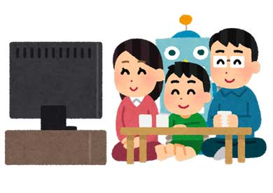テレビ番組 連動 雑談対話型AI ロボット 音声対話 KDDI NHK