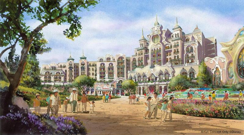 新ディズニーホテル(イメージ)