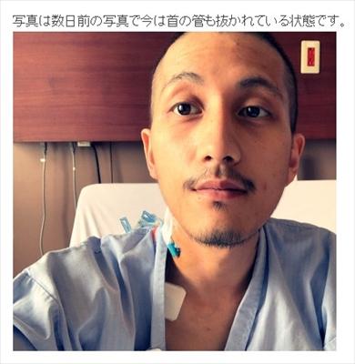 Nosuke 退院 misono 精巣がん 胚細胞腫瘍 15時間 抗がん剤