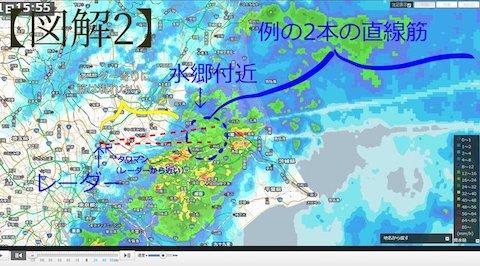 千葉市雨雲レーダー