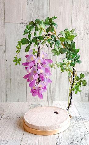 藤の花ランプ