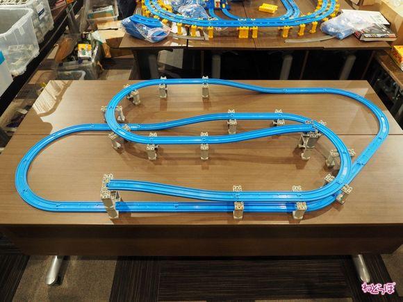 プラレール 立体レイアウト 畳 一畳プラレール ぺたぞう 連載 設計図