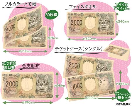 猫紙幣雑貨